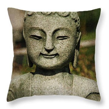Shiva Throw Pillow by Susanne Van Hulst