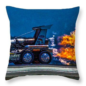 Shock Wave 2836 Throw Pillow