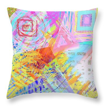 Shockwave Throw Pillow by Jeremy Aiyadurai
