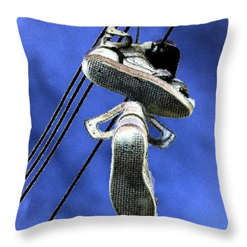 Shoefiti 13115 Throw Pillow