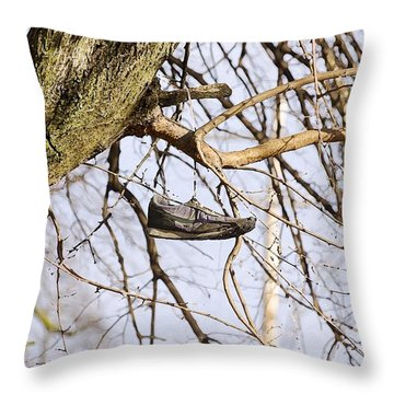 Shoefiti 19061 Throw Pillow