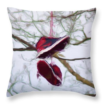 Shoefiti 2327dp Throw Pillow