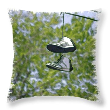 Shoefiti 23625 Throw Pillow
