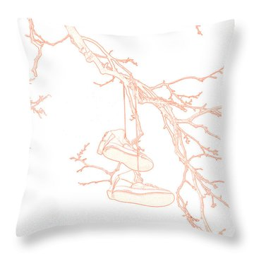 Shoefiti 3036 Throw Pillow