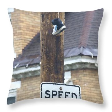 Shoefiti 62676 Throw Pillow