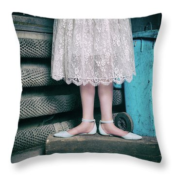Shoes #6429 Throw Pillow