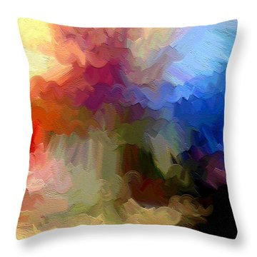 Shoop Throw Pillow by Ely Arsha