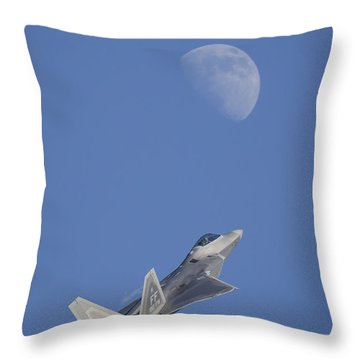 Throw Pillow featuring the photograph Shoot The Moon by Adam Romanowicz