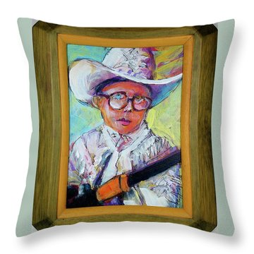Shoot Your Eye Out Throw Pillow