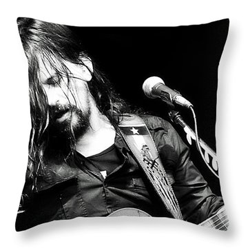 Shooter Jennings - Rebel Throw Pillow