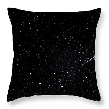 Shooting Star And Big Dipper Throw Pillow