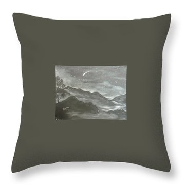 Shooting Star  Throw Pillow by Irina Astley