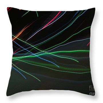 Throw Pillow featuring the photograph Shooting Stars by Ausra Huntington nee Paulauskaite