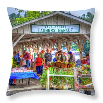Shop Local Throw Pillow by Dale R Carlson