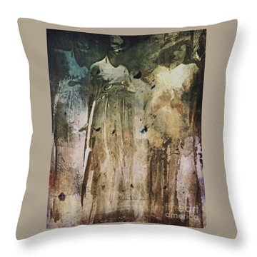 Shop Window Throw Pillow by Alexis Rotella