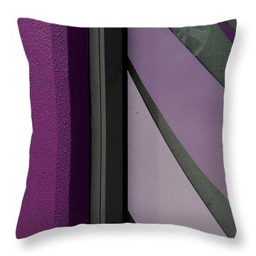 Shopfront Abstract Throw Pillow