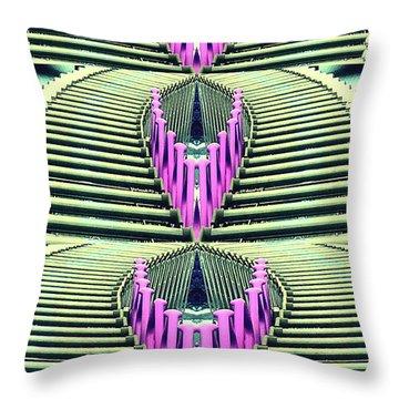 Shopping Queen Throw Pillow