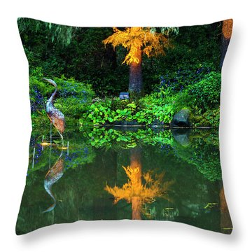 Shore Acres Beauty Throw Pillow by Dale Stillman