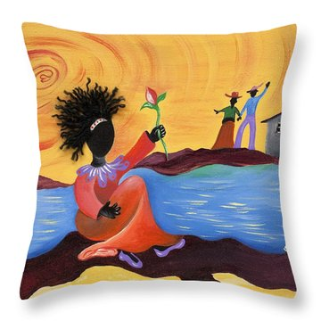 Shore Love Throw Pillow