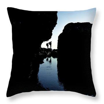 Shore Patrol Throw Pillow
