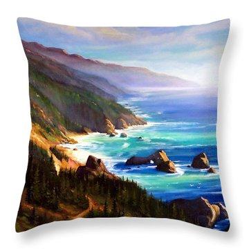 Shore Trail Throw Pillow