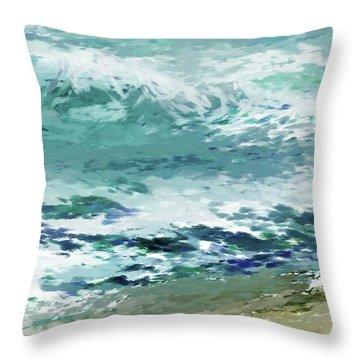 Shore4 Throw Pillow