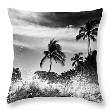 Shorebreak Throw Pillow