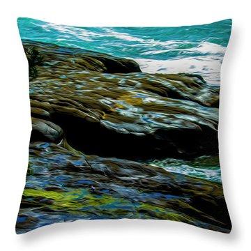 Shoreline  Throw Pillow
