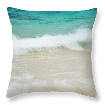 Shorelines Iv Throw Pillow