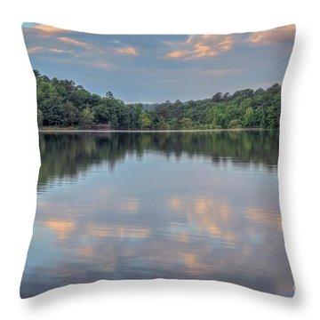 Shores Lake Throw Pillow