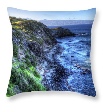 Shores Of Maui Throw Pillow by Shawn Everhart