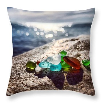 Shoreshine Throw Pillow