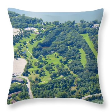 Shorewood Golf Throw Pillow by Bill Lang