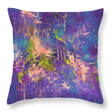 Short Circuit Throw Pillow