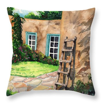 Short Ladder Throw Pillow