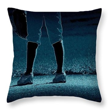 Short Stop Throw Pillow