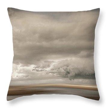 Short Wharf Creek 4 Throw Pillow