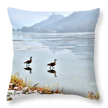 Shortcut Throw Pillow