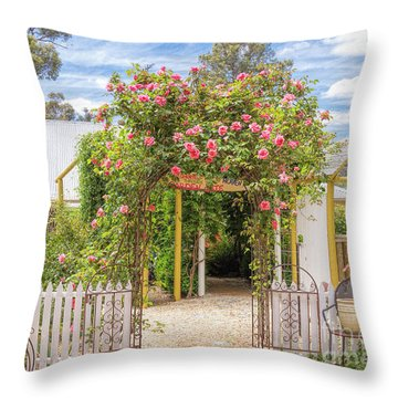 Shortest Way To Heaven #2 Throw Pillow