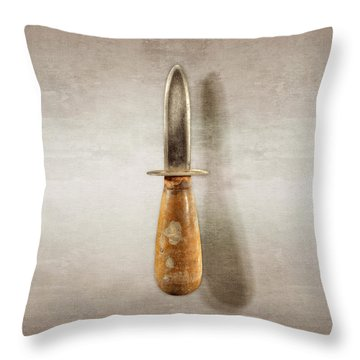 Shorty Knife Throw Pillow by YoPedro