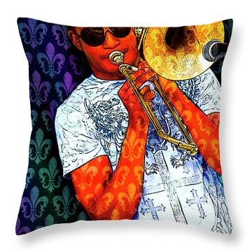 Shorty Throw Pillow by Tammy Wetzel