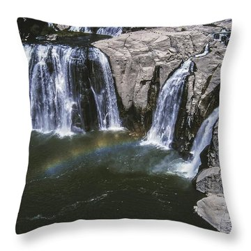 Shoshone Falls Idaho Throw Pillow