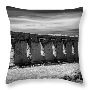 Throw Pillow featuring the photograph Shoulder To Shoulder by James Barber