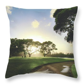 Throw Pillow featuring the photograph Show Me The Way by Laurie Search