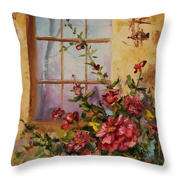 Show Of Color Throw Pillow