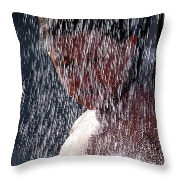 Shower Throw Pillow