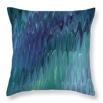 Showers Of Renewal Throw Pillow