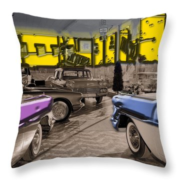 Showroom Chebys Throw Pillow