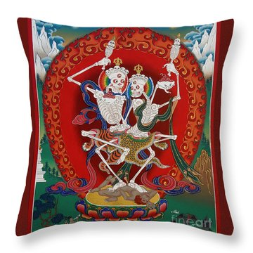 Shri Chittipati - Chokling Tersar Throw Pillow