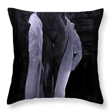 Shudder Before The Beautiful Throw Pillow by Jarko Aka Lui Grande
